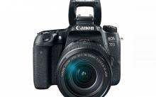 เปิดตัวกล้อง DSLR Canon EOS 77D รุ่นใหม่ล่าสุด