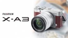 Fuji X-A3 กล้องมิลเลอร์เลสทัชสกรีนสายหวาน