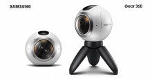 Samsung Gear 360 กล้องถ่ายทอดสด 360 องศาจาก Samsung