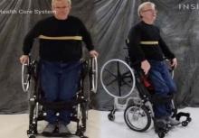 """""""วีลแชร์แบบยืน"""" ช่วยให้ผู้พิการ ทำกิจกรรมต่างๆ ได้มากขึ้น!!"""