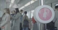 ไอเดียสุดเจ๋งของเกาหลี ช่วยเหลือคนท้อง ให้มีที่นั่งบนรถไฟ