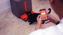 easyFeed อุปกรณ์สอดส่องสัตว์เลี้ยงภายในบ้านมาพร้อมกับระบบให้อาหารอัตโนมัติ