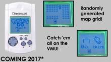 Pokemon GO กำลังจะเล่นได้บนเครื่อง Dreamcast VMU