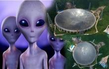 จีนสร้างกล้องโทรทรรศน์ขนาดมหึมา เพื่อค้นหา มนุษย์ต่างดาว