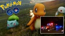 หนุ่มเดินตามหาโปเกมอนในเกม Pokemon GO จนโดนตบ iPhone !!