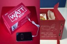เจ๋งอ่ะ!KFCผุดไอเดียกล่องอาหารชาร์จมือถือได้(มีคลิป)