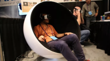 Telepod เก้าอี้ระบบสั่น เพื่อเสริมความสามารถของ VR